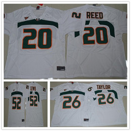046f073d1 2018 New Men Miami Hurricanes 52 Ray Lewis Jersey Green White Orange Mens College  football jerseys ray lewis miami jersey on sale
