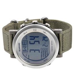 Termómetro de escalada online-SunRoad Fishing Watch Pronóstico del tiempo Altímetro Barómetro Termómetro Escalada al aire libre Reloj Impermeable Hombres Deportes