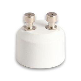 Suporte da lâmpada on-line-GU10 (Tomada Fêmea) para MR16 (Tomada Macho) Adaptador de Base de Soquete de Halogéneo Lâmpada Titular Conversor Adaptador de Lâmpada