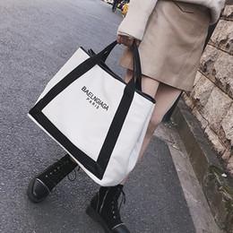 leinentasche Rabatt Neue Mode Tragetaschen Handtasche Elegante Einfache Leinwand Hit Farbe Big Bag Hohe Qualität Große Kapazität Einzelne Schulter Diagonal Gezeiten