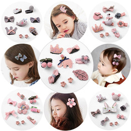 Wholesale Hair Decoration Clips - Lovely Fashion Style Baby girl hairpin bowknot hair decoration headband Beautiful Angel Headwear Hairband Hair Accessories Hair Clip