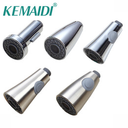 Wholesale Cover Decks - KEMAIDI Two Function Convenient Faucet tap Spray Head Cover With Water flow Uniformly Kitchen Faucet Sprayer Nozzle