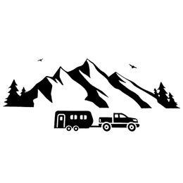 vogel fenster aufkleber Rabatt 19,5 cm * 8 cm Mountain Moving Bird Fliegen On Line Amüsant Klare Fenster Aufkleber Vinyl Auto Aufkleber