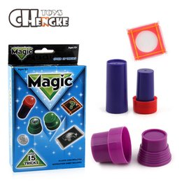 Wholesale popular kids games - Fun Popular Desktop Family Games Plastic Street Magic Tricks for children gift Classic Toys Table Toys Games Gift For kids