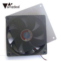 Wholesale Computer Dust Filters - amzdeal 12cmx12cm Computer Cooling Fan Filter Computer Dust Filter Strainer Dustproof Mesh New