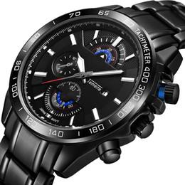 06dd9b5b8da Marca de luxo esportes Quartz Watch preto Grande mostrador de Aço  Inoxidável Dos Homens Relógios militares À Prova D  Água de design  exclusivo relógio de ...