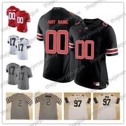 black ohio state football jersey Promo Codes - Ohio State Buckeyes NCAA  College Football Custom Limited 741a4daec