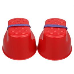 Wholesale Wooden Balance - HOT SALE 1 Pair Jumping Stilts Plastic Balance Jumping Stilts Toys Feet