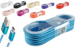 zte-kabel Rabatt Für Samsung / ZTE / LG Geflochtene Micro USB Typ C Daten Sync Ladegerät Lade Android Kabel Hohe Qualität
