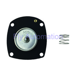 Diafragma negro Turbo diafragma M25 Viton glándula 1 pulgada Todo tipo de membrana personalizada membrana diafragma desde fabricantes