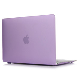 Wholesale Rubberized Hard Case - Matte Rubberized Hard Case Cover for Macbook ProLaptop Shell- Pro 15 inch Purple