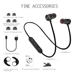 X3 Cuffie Bluetooth senza fili in metallo Super Bass Auricolare Sport Auricolare per Iphone X 6 7 8Plus S8 Cellulare universale da
