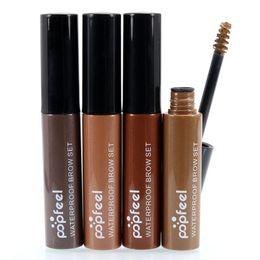 Wholesale Tint Brushes Wholesale - Whosales Eyebrow Mascara Dye Cream Tint Gel Brush Waterproof Beauty Makeup Tool LY1