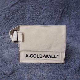 Marka Yeni A-SOĞUK-DUVAR Bel Çantaları Bir Soğuk Duvar Hip Hop Sırt Çantası Göğüs Paketi SIYAH TUVALETI UTILITY Bel Çantası Messenger Çanta Bırak ... nereden