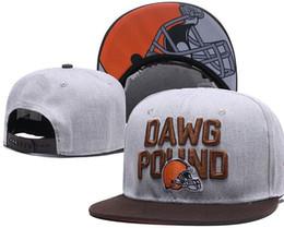 Привет q онлайн-2018 новый американский футбол спортивная команда Кливленд-B качество Snapbacks шапки и шляпы для мужчин или женщин Привет-Q качество вышивки