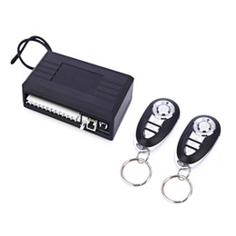 Wholesale Central Control - Universal Keyless Entry System Auto Remote Control Central Door Lock Vehicle Keyless Entry System for Car 12V Central Locking System