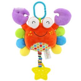 bébé tour suspendu dessin animé animal jouet de dentition en peluche ? partir de fabricateur