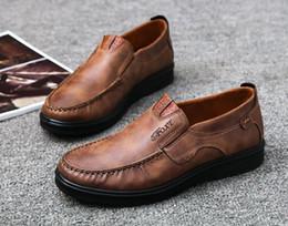 Atacado-2018 New Hot Sales Marca Moda Sexy Top Quality Homens Flats Designer Homens Sapatos Lace Up Sapatos Mens Casual Shoes de