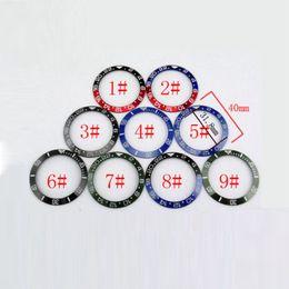 Pièces de montre, Titane / Aluminium / Lunette en céramique Fit pour SUB GMT Montres automatiques de poignet, Insert pour 43mm Montre ? partir de fabricateur