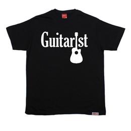 Guitariste électrique T-SHIRT Groupe de musique Musique String String Fashion anniversaire cadeau drôle Drôle livraison gratuite Tee Casual ? partir de fabricateur