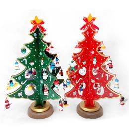 Таблица привилегий онлайн-Woodiness Рождеством аксессуары оригинальность стол стол украшения мультфильм партия пользу подарок украшения красный зеленый 23 8ld3 Ww