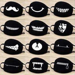 Máscaras contra poeira respiradores on-line-12 Estilo Face Máscara de Boca Camuflagem Boca-mufla Unisex Algodão Anti-Poeira Boca Máscara Facial Respirador Respirator Máscara EEA186