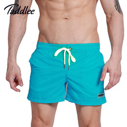 Wholesale cargo bottoms - Taddlee Brand Mens Active Trunks Workout Cargos Man Jogger Boxers Sweat Pants Board Beach Shorts Men Short Bottoms Quick Drying