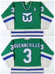 hockey jerseys hartford whalers 2019 - Factory Outlet Newest Custom 3 Joel  Quenneville Hartford Whalers Ice 6730bb8d2