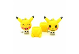 animal memory sticks NZ - Cute Animals USB Flash Drive Anime Cartoon Pikachu 32GB Pen Drive U Disk Memory Stick U41