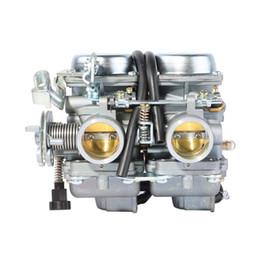 Moteurs chinois en Ligne-PD26JS 26mm Carburetor Pour CB125 250 Cl125-3 Chinois Regal Raptor Bicylindre CA250 CMX250 1996-2011