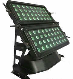 Wholesale Outdoor Led Dmx - Free shipping High quality 120X18W Silent IP65 Waterproof RGBAW UV 6in1 High power LED City Color LED Outdoor City Color Light LLFA