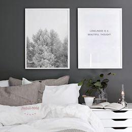 2019 пейзаж декор стены Скандинавский стиль сосновый лес холст искусство печати живопись плакат, пейзаж стены картины для украшения дома, декор стен S17002 дешево пейзаж декор стены