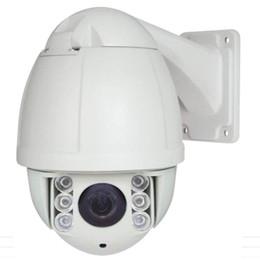 Canada Caméra dôme PTZ haute vitesse de sécurité IP66 pour extérieur IP66 PoE HD IP 1080P 2.0MP Megapixels 20X Zoom ONVIF P2P W / Audio Microphone Offre