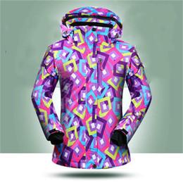 Argentina ¡¡Promoción!! Chaqueta de esquí de las mujeres chaquetas de snowboard femenino al aire libre frío de invierno 10000mm chaquetas de esquí de las mujeres impermeables ropa de nieve supplier snowboard winter coats Suministro