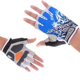 2019 беговые перчатки Мужчины Многофункциональные Летние дышащие Половина перчаток Перчатки Спортивное оборудование Открытый Пешие прогулки Рыбалка Защита от солнца Перчатки без пальцев