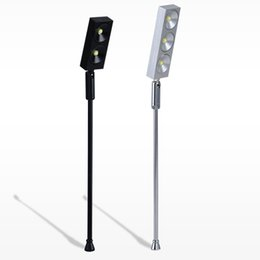 Wholesale Lights For Jewelry Display - Free Shipping 1W 2W 3W 5W Vertical Led Light For Jewelry Display Glass Showcase With Driver