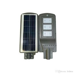 Wholesale Photocell Outdoor Lighting - LED Solar Street Lights 60W 40W 20W (Radar Sensor + Photocell Sensor ) Led Steet Lights Waterproof Outdoor Led Lamps AC 85-265V