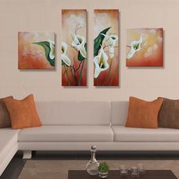 2019 moderne große blumenmalereien Handgemalte abstrakte weiße Blume Ölgemälde handgemachte florale Gemälde auf Leinwand große Ölgemälde Bilder moderne Wandkunst rabatt moderne große blumenmalereien