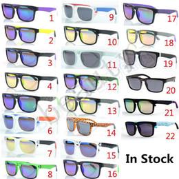 gafas de sol de bloque Rebajas 22 colores KEN BLOCK HELM Colorido Recubrimiento reflectante Gafas de sol Ciclismo Deportes Deslumbrantes Gafas de sol para mujer Para hombre Gafas SGT001