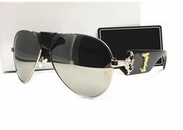 Wholesale Vintage Black Coats - Italy designer men women brand sunglasses metal frame removable leather buckle Medusa vintage eyeglasses coating lens eyewear lunette