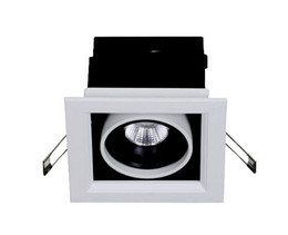 Luz da grelha do tecto on-line-Novo design! 5 w 7 W Quadrado COB LEVOU Grade de teto Lâmpada luz LED bean spot light 120 * 120, branco frio neutro quente, frete grátis