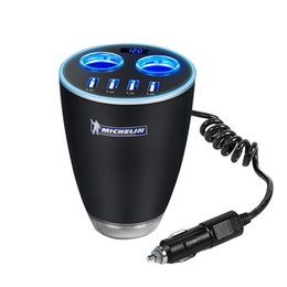Wholesale protection monitoring - 4 ports current monitoring high end smart dual usb universal car chargers it is convenient and Protection you