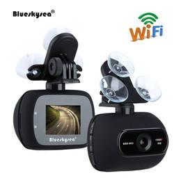 2019 registratore mp4 sd Blueskysea automobile DVR HD 1080P BSS003 2MP WiFi Parcheggio macchina fotografica del precipitare Novatek 96658 dash cam con staffa magnetica c