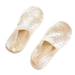 Wholesale Over Knee Boot Socks - Women Girls Spring Soft Breathable Cute Lace Flower Short Antislip Invisible Single Comfortable Boot Socks