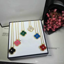 Canada S925 pendentif en argent sterling avec fleur et diamant pour les femmes collier de mariage en blanc noir rose vert bleu couleur pierre cadeau Offre