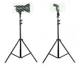 estudios de trípode Rebajas 2 unids 195 cm Soporte de Luz Flash Studio Iluminación Paraguas Plegable Estudio Fotografía Soporte de Luz Flash Soporte Trípode de Tres Flash