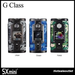 Wholesale Mini Class - Authentic SXmini G Class Vape Mod SX MINI G Class Limited Edition-Camouflage Mod with Bluetooth App Control (Android&iOS) Powered by YiHi SX