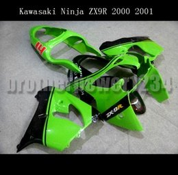 ninja 1999 zx6r kits de carenagem Desconto Carenagem plástica do corpo da carenagem do ABS cabida para Kawasaki Ninja ZX-9R 2000 - 2001