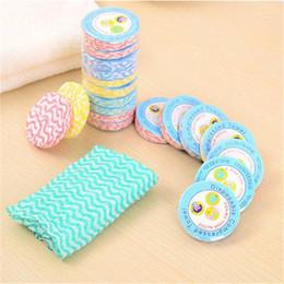 toalhas de papel comprimido Desconto 10 Pcs Descartável Magia Mini Toalhas Compressas de Viagem Toalha de Banho Portátil Banheiro Toalhete Facial Reutilizável 10.2