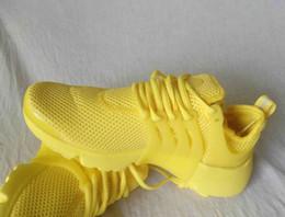 Новый 2017 Prestos 5 кроссовки Мужчины Женщины Presto Ultra BR QS желтый розовый Oreo открытый мода кроссовки размер США 5.5-12 от